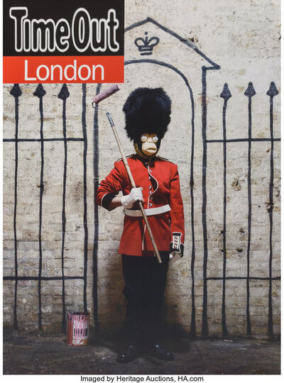 After Banksy, 'Time Out London Magazine, poster', 2010