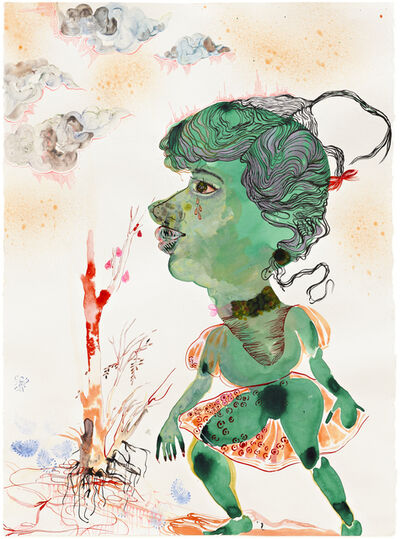 Rina Banerjee, 'Searching for greener pastures and even greener (nicer) people', 2010