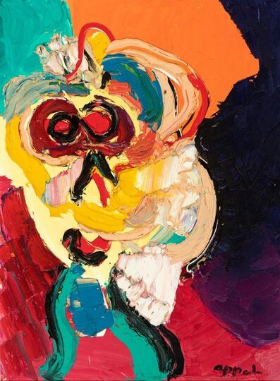 Karel Appel, 'Personage', ca. 1975
