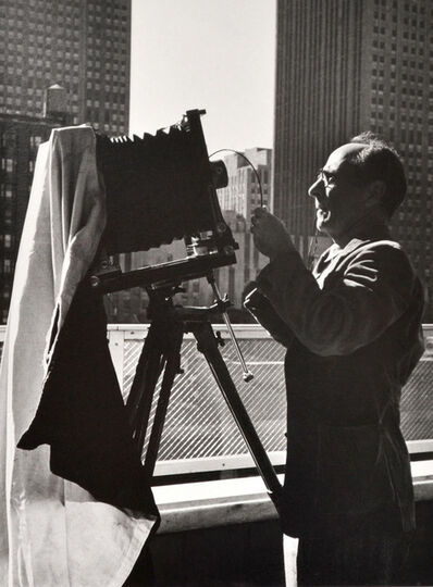 Beaumont Newhall, 'Edward Weston at the Museum of Modern Art, New York', 1946