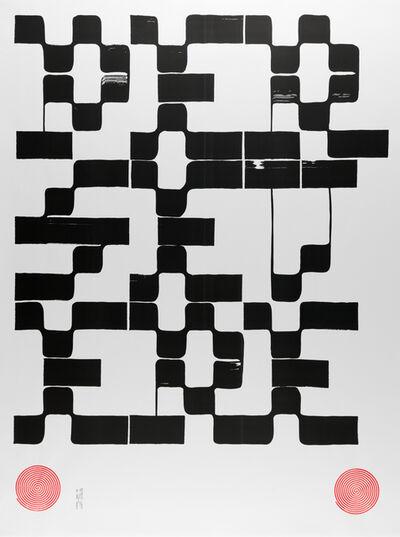Tauba Auerbach, 'PERSEVERE IV poster', 2017