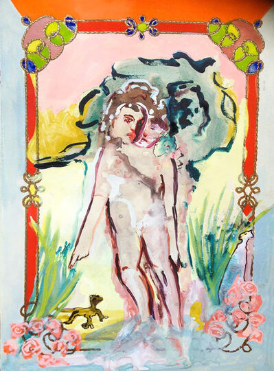 Lola Montes Schnabel, 'Stroll with ones conscience as a lizard', 2012