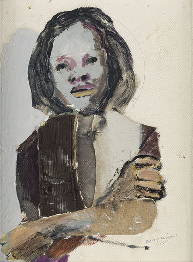 Benny Andrews, 'April.', 1970