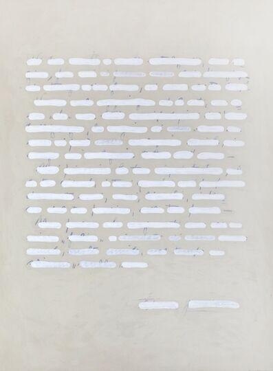 Emilio Isgrò, 'Lettera bianca', 2005