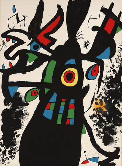 Joan Miró, 'Montroig 3', 1974