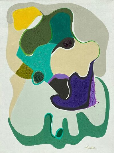 Lynda Keeler, 'Garden Map Santa Monica', 2021