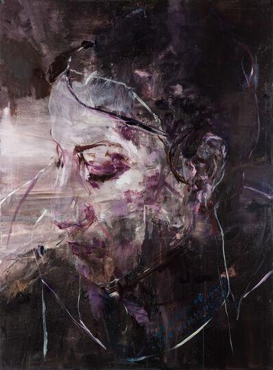 Edwige Fouvry, 'Portrait et paysage de nuit', 2017
