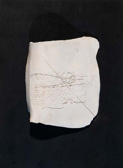 Maria Lai, 'White page'