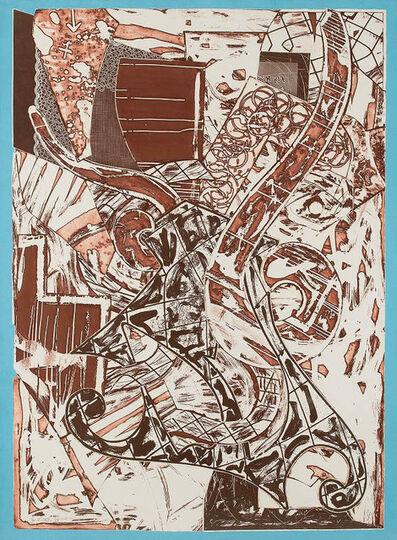 Frank Stella, 'Swan Engraving Framed II', 1984