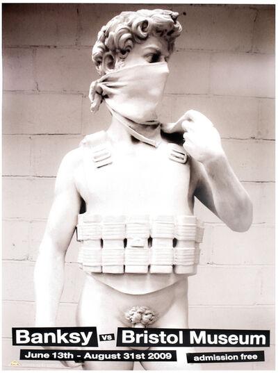 Banksy, 'DAVID (Banksy Vs. Bristol Museum', 2009