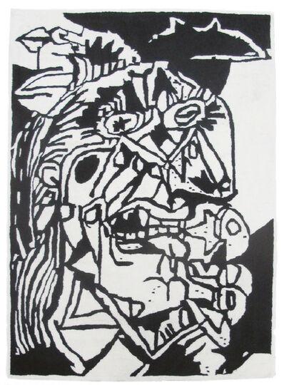B. Thom Stevenson, 'Crying Face (Rug)', 2016