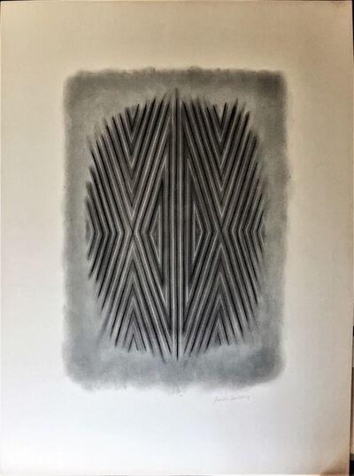 James Hilleary, 'Afterimage Conté Pastel Pencil on artist's paper', ca. 1975