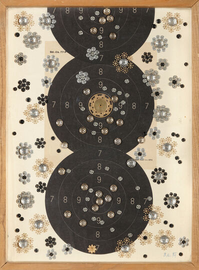 Běla Kolářová, 'Bullets and Flowers ', 1974
