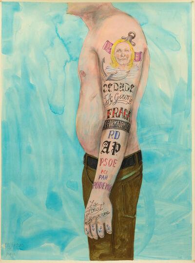 Juan Pérez Agirregoikoa, 'Tatuajes', 2016