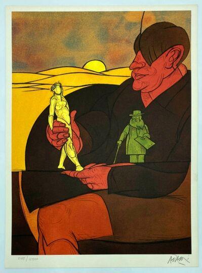 Valerio Adami, 'Statuette', 1982