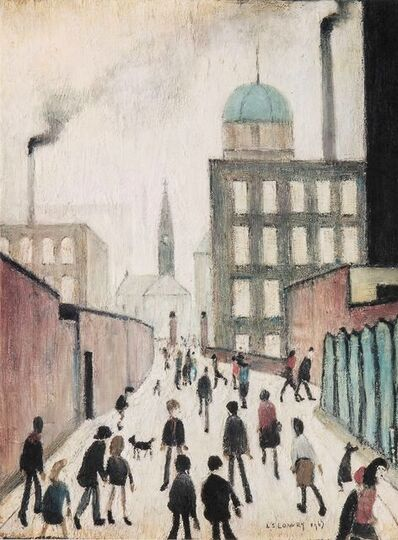 L.S. Lowry, 'Mrs Swindell's Picture'