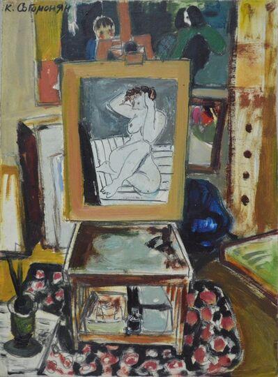 Kerop Dzarukovich Sogomonyan, 'The painter´s studio', 1997