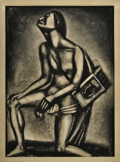 "Georges Rouault, 'Sunt lacrimae Rerum - from ""Miserere""', 1926"
