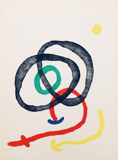 Joan Miró, 'From 'Derrière le Miroir, Joan Miró: Aquarelles, Album Femmes, Haï-Ku'', 1967
