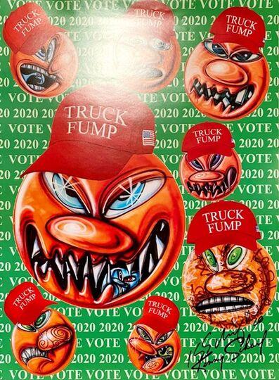 Kenny Scharf, 'Truck Fump', 2020