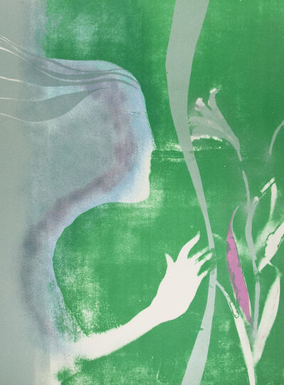Paul Guiramand, 'Femme au Lys (Woman with Lily)', 1975