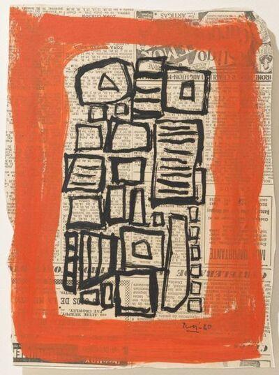 Miguel Ángel Pareja, 'Composición II', 1956