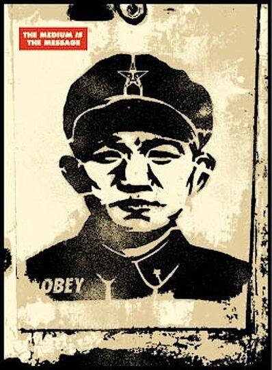 Shepard Fairey, 'Chinese Stencil', 2001