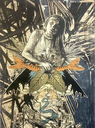 Swoon, 'Kamayura (Original)', 2013