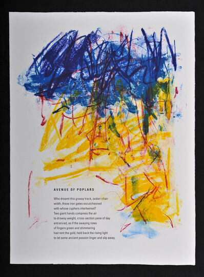 Joan Mitchell, 'Avenue of the Poplars', 1992