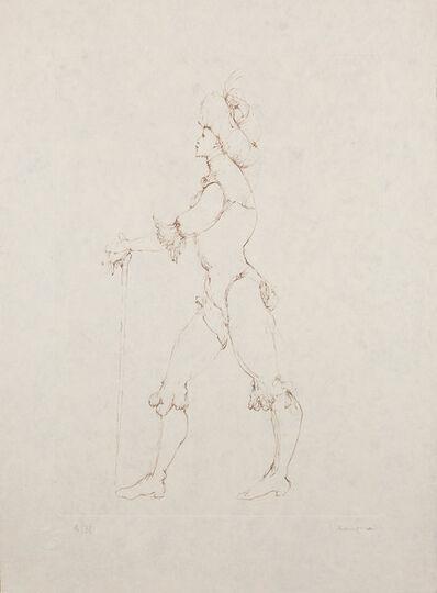 Leonor Fini, 'Les Elus de la nuit (9A)', 1986
