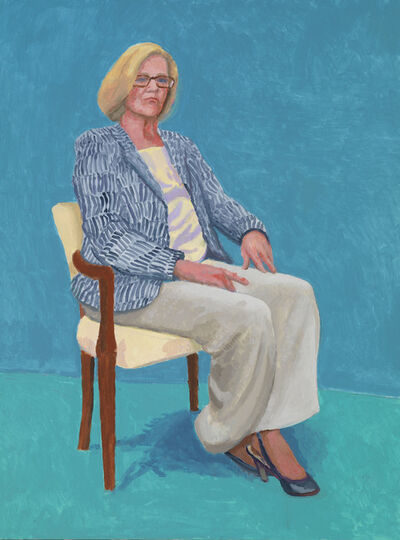 David Hockney, 'Dagny Corcoran', 15th, 16th, 17th January 2014