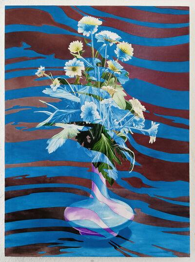 Lennart Rieder, 'Brush Blue', 2019
