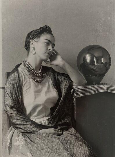 Manuel Alvarez Bravo, 'Frida with Globe (seated)', c. 1938