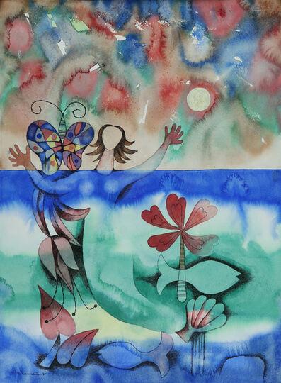 Mario Carreño, 'Sirenas con Mariposas ', 1980