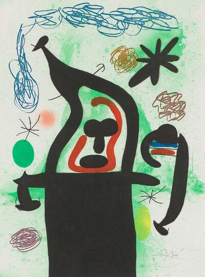 Joan Miró, 'La Harpie (D. 506)', 1969
