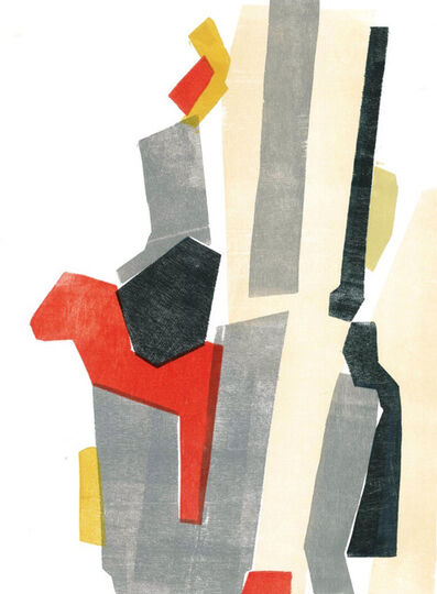 Euphrosyne Andrews, 'Untitled Wood Cut 2'