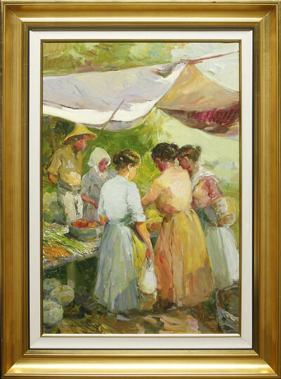 Giner Bueno, 'Mercado de Hortalizas (Vegetable Market)'