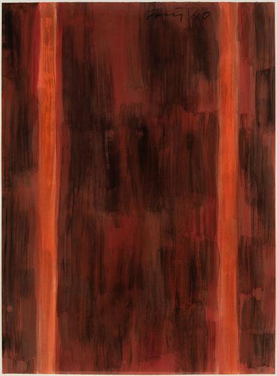 Günther Förg, 'Untitled (red)', 1990
