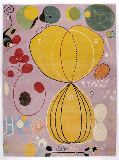 Hilma af Klint, 'Group IV, no 7. The Ten Largest, Adulthood', 2018