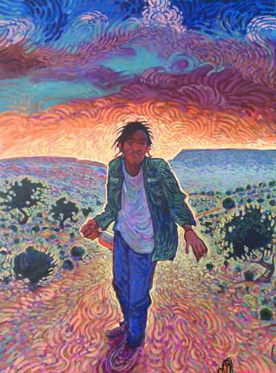 Shonto Begay, 'Cold Light of my Shadow'