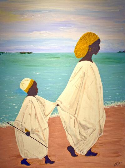 Donna Ladson, 'Hagar and Ishmael', 2020