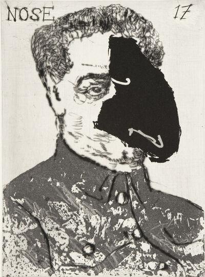 William Kentridge, 'The Nose Opera (Nose 17)', 2008