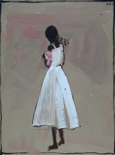 John Maitland, 'Girl in White with Infant'