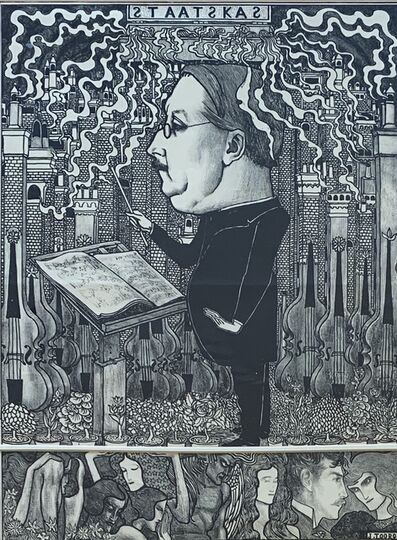 Jan Toorop, 'De Staatskas', 1895