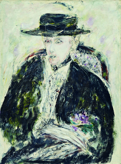 SRĐAN VUKČEVIĆ, 'Winter Portrait with a Summer Hat', 1989