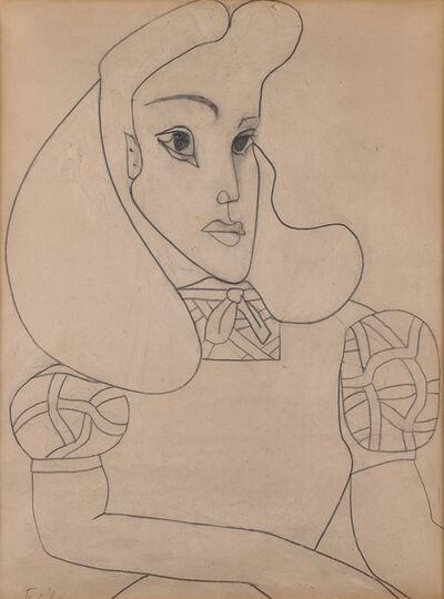 Françoise Gilot, 'Ines (Sassier)', 1949