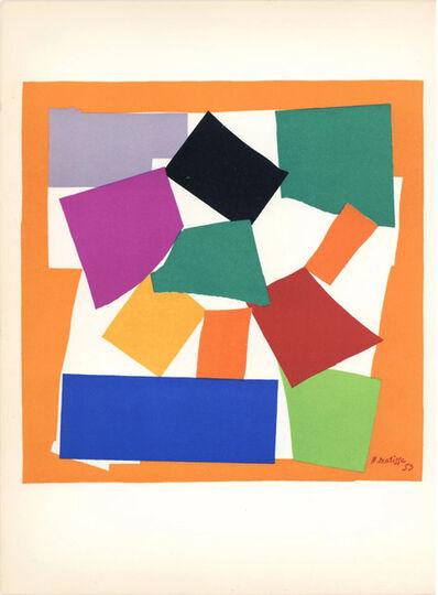 Henri Matisse, 'Lithograph 'L'Escargot'', 1958