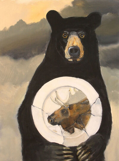 Robert McCauley, 'Gathering (Moose)', 2020