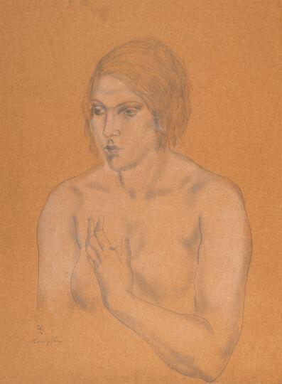 Léonard Tsugouharu Foujita, 'Buste de femme', 1930