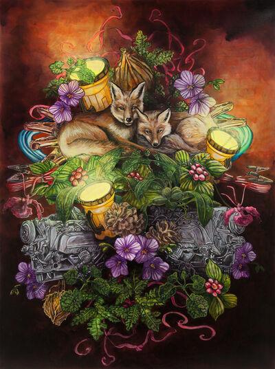Cynthia Dinan-Mitchell, 'Fox Nap / La Sieste des renards', 2018